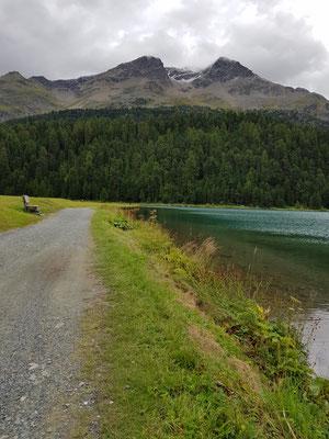Running in St. Moritz