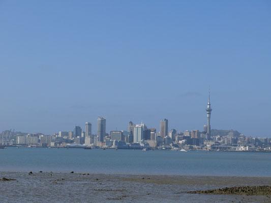 Auckland, die grösste Stadt auf der Nordinsel