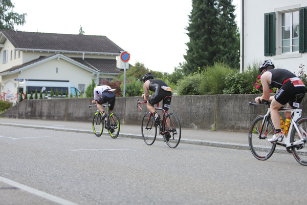 Mike on the bike