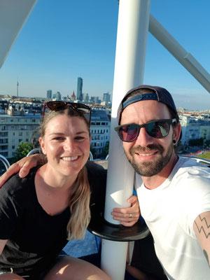 Wien: Auf dem Riesenrad