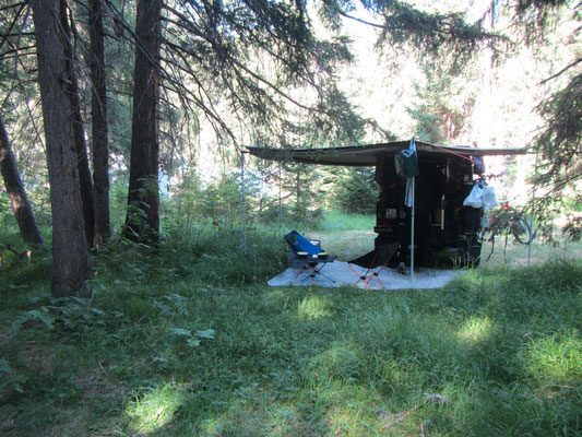 Unser Campingplatz