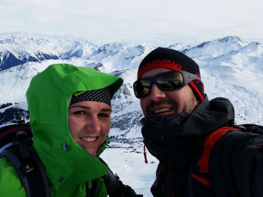 Auf dem Gipfel (2'400 müm)