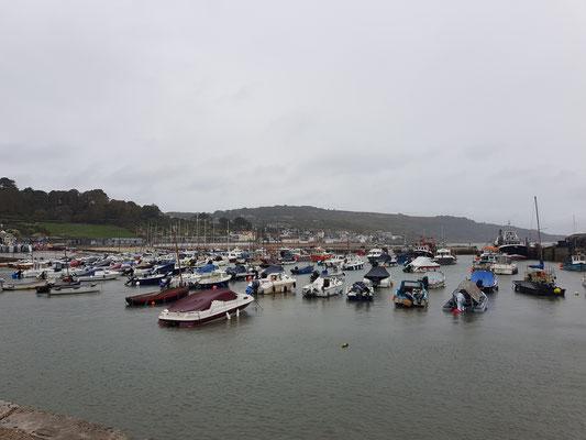 Lyme Regis Hafen