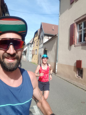 Lauftraining in Turkheim