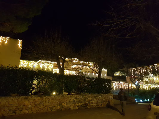 Unser Campingplatz mit Weihnachtsdorf