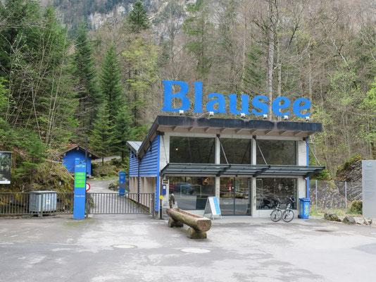 Eintrittskasse zum Blausee