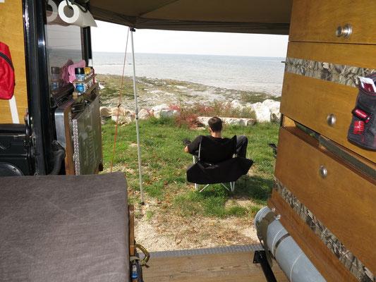 Ankunft in Kroatien auf dem Camping in Umag