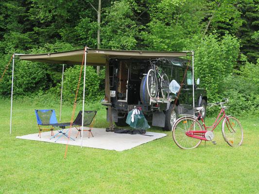 Zurück auf dem Camping