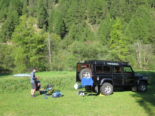 Camping Cul in Zernez