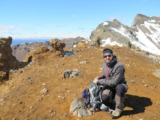 Tongariro Alpine Crossing Wanderung