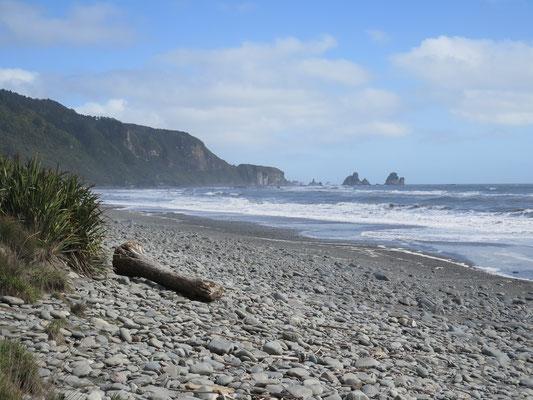 Westküste mit dem wilden Meer