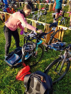 Bike Check-In in Uster