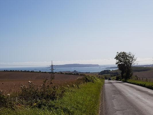 Abchecken der Radstrecke mit Begleitung von Gabi & Mirko