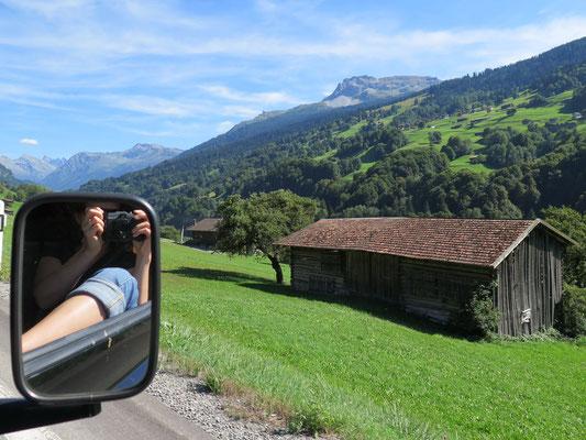Fahrt nach Graubünden