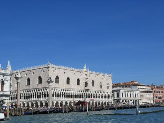 Der Dogen Palast von aussen