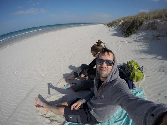 Uretiti Beach für uns alleine