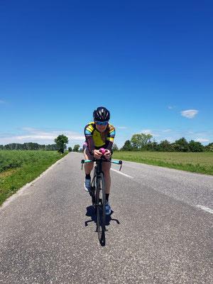 Streckenbesichtigung Bike