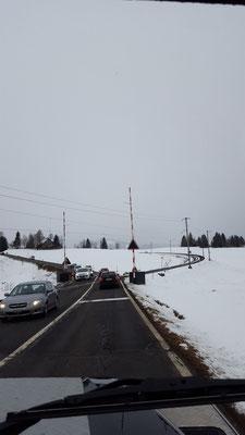 Winterliche Stimmung unterwegs