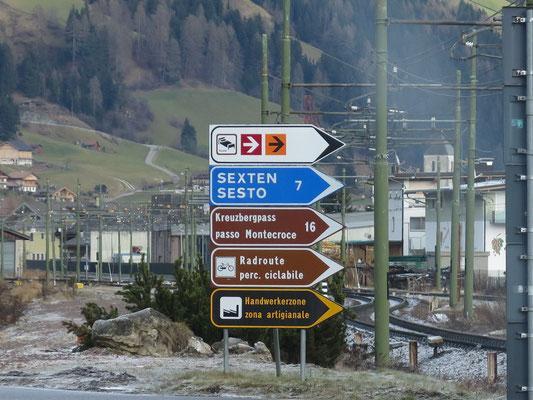 Im Südtirol angekommen....