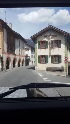 Fahrt durch die Schweiz