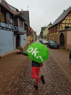 Es regnet.....OK