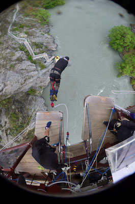 Queenstown - Bungee Jumping 43 Meter