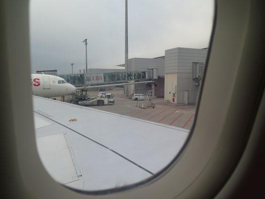 Abflug in Zürich