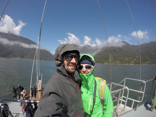 Bootstour durch die Milford Sounds