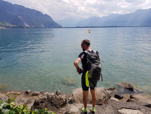 Etappe 4: Sierre - Vevey - Genfersee