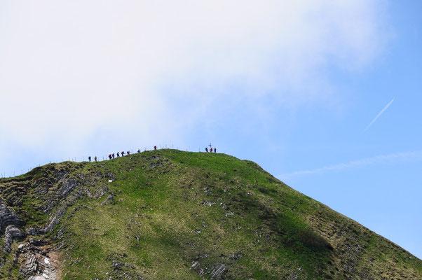 Wanderung auf den Le Moléson
