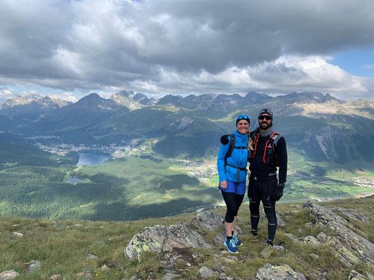 Trailrun Muottas Muragl - Chamanna Segantini - Alp Languard - Muottas Muragl