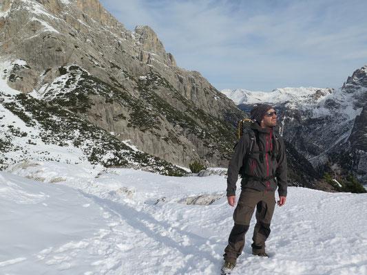 Erster Gipfel geschafft: 2000 Meter über Meer