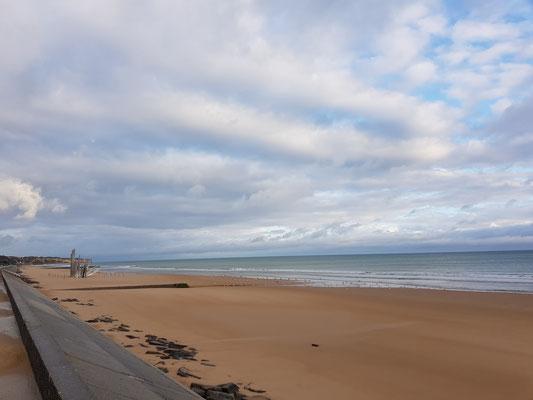 Nach 2 Wochen Südengland sind wir zurück an der Küste und besuchten gleich Omaha Beach