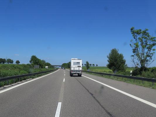 Anfahrt nach Bad Kissingen....