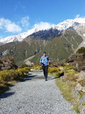 Hooker Valley Trail - einer der schönsten Trailruns