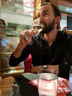 ...und ein Weisswein musste es dann auch noch geben :)