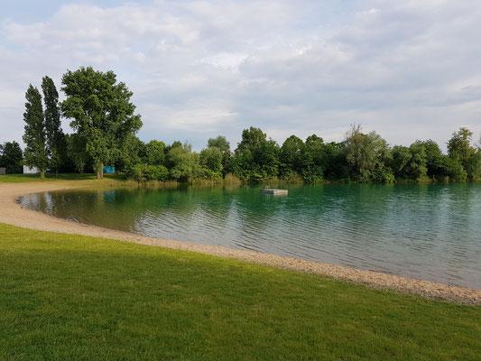 Hier wird am 3. Juni der Swimstart für den IRONMAN 70.3 sein