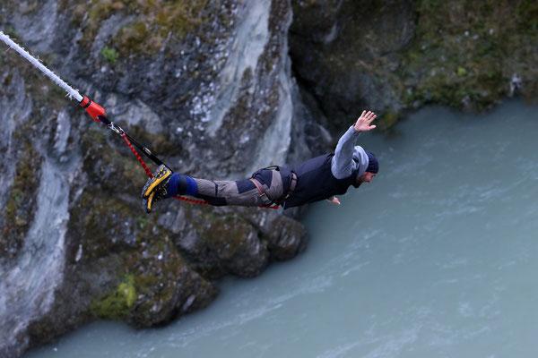Queenstown - Bungee Jumping 43 Meter