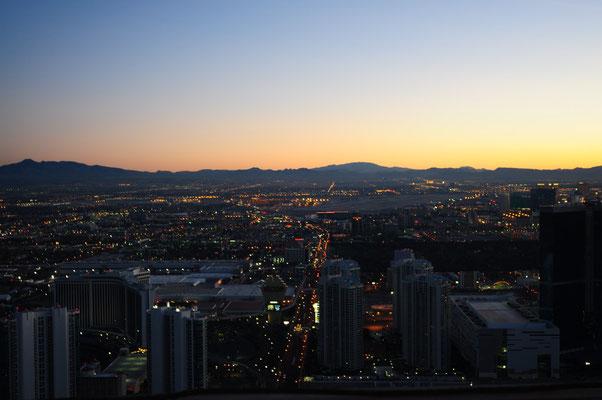 Aussicht Stratosphere Hotel