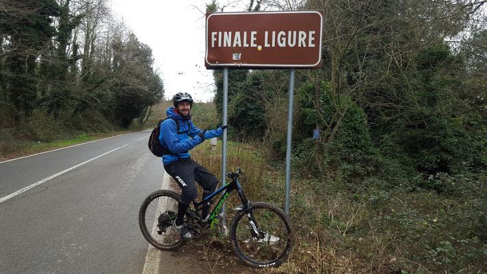Wir starten mit der ersten Mountainbike Tour