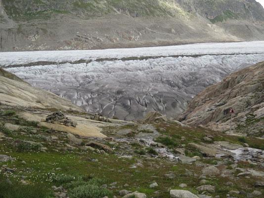 Bald sind wir beim Gletscher