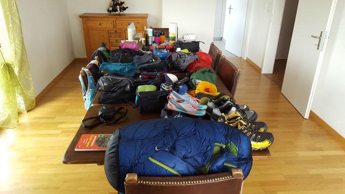 Packen Zuhause
