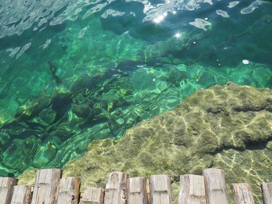 National Park Plitvicer Seen: überall glasklares Wasser