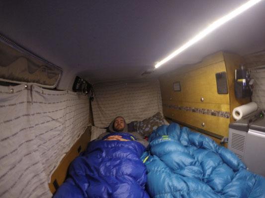 Einblick in unser Campingleben: Nachtlager