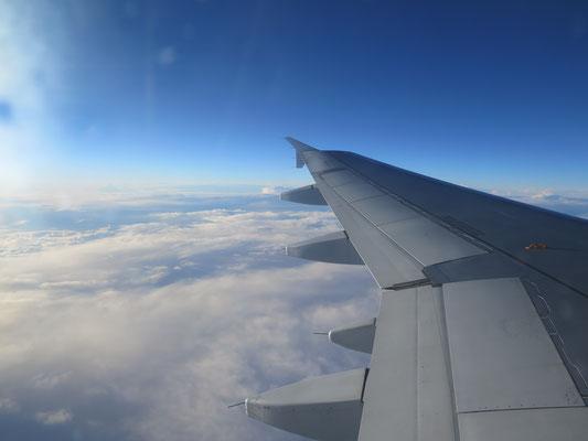 Über den Wolken noch etwas  Sonne tanken