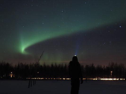 25. Dezember: Bestes Weihnachtsgeschenk ever: Unsere ersten Nordlichter