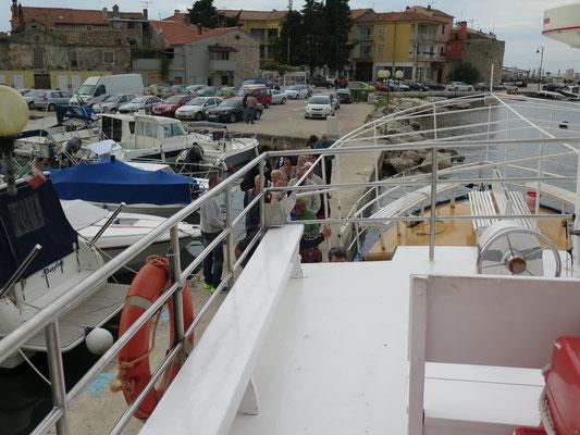 Touri-Programm der Superlative: 1-tägige Bootstour entlang der Küste von Istrien