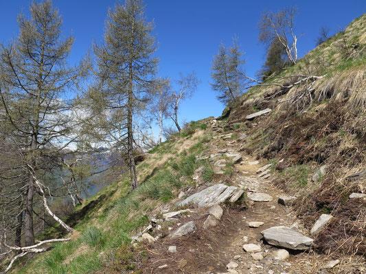 Wanderung Cimetta zum Cima della Trosa