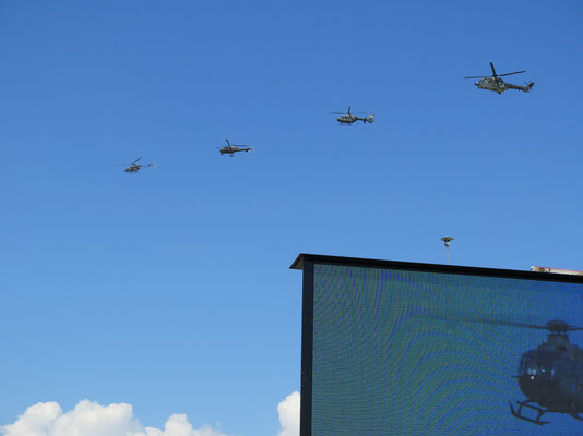 Schweizer Luftwaffengeschichte Heli