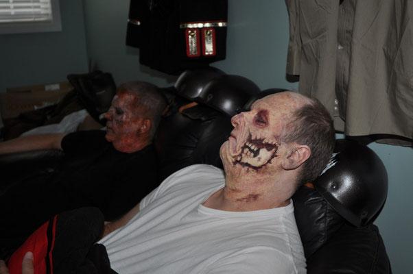 Zombies am Schlafen